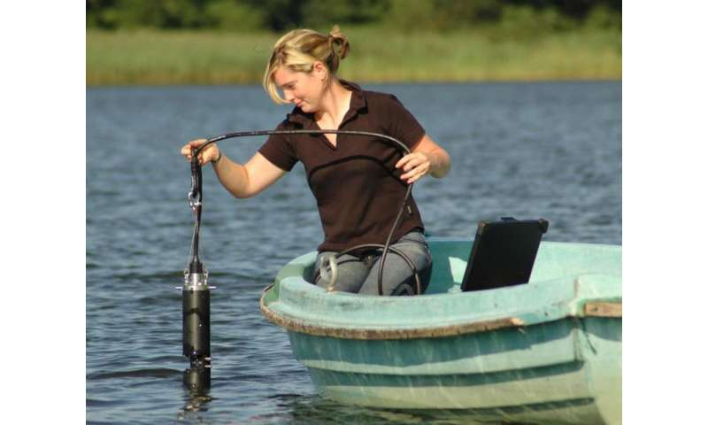 Smart buoy for measuring water pollutants