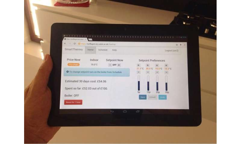 Smart thermostat puts energy money saving at household fingertips