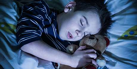 Snoring in children can affect their health
