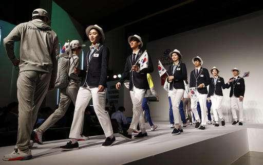 South Korea reveals Zika-proof clothing for Rio