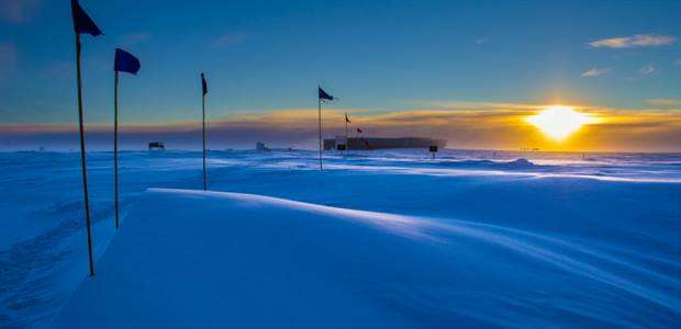 South Pole is the last place on Earth to pass a global warming milestone