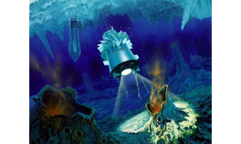 Space submarines will allow us to explore the seas of icy moons