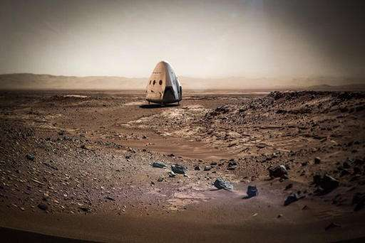 SpaceX aims to send 'Red Dragon' capsule to Mars in 2018