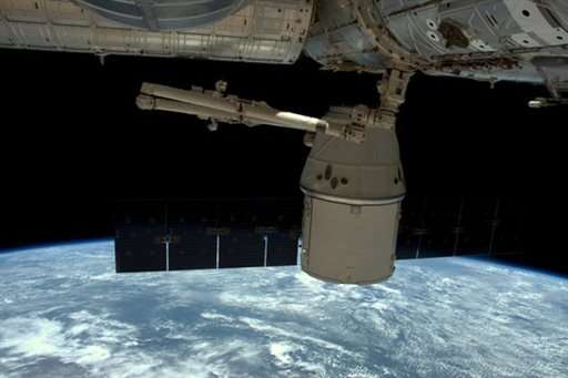 SpaceX Dragon departs space station, heads home with cargo