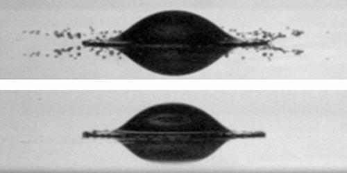 Splash-free urinals? Scientists investigate new 'splash avoidance' technique