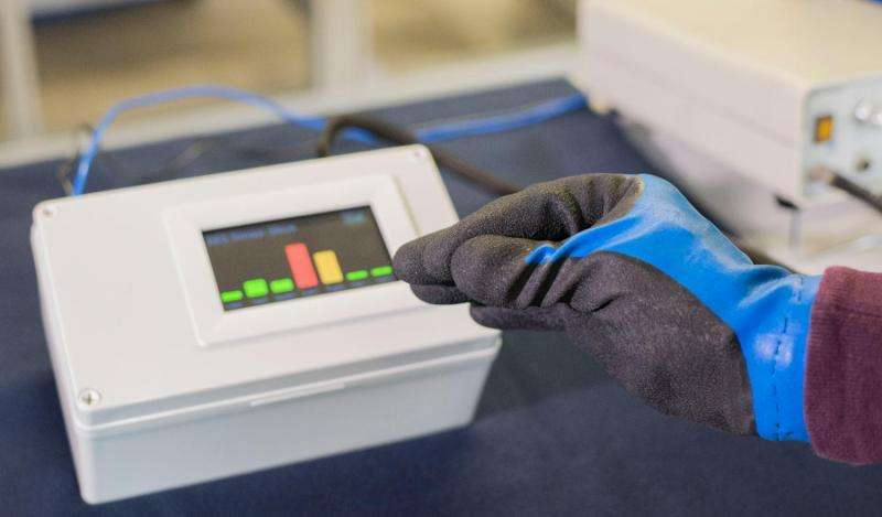 Stepless control devices with flexible pressure sensors