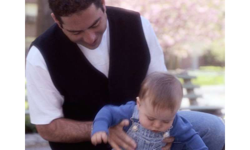 Stressed dads can affect kids' development