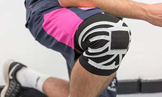 Student's knee sleeve design could prevent painful sports injuries