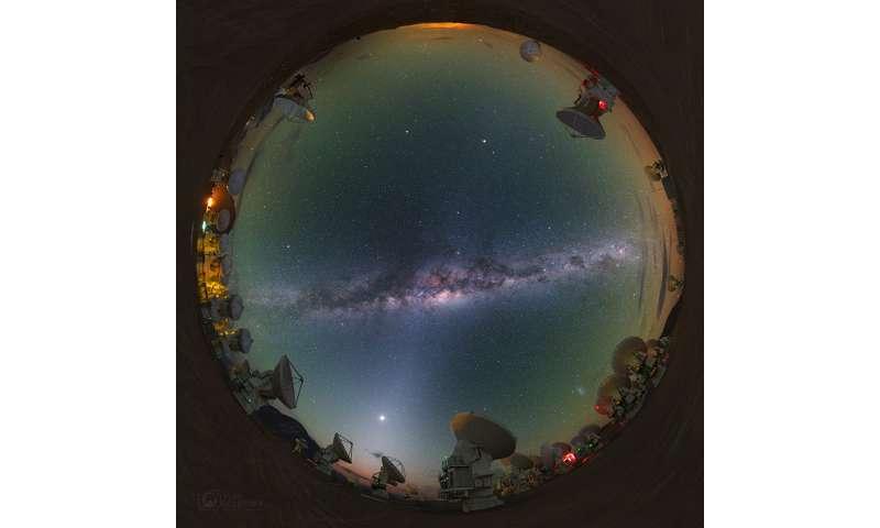 Study helps prove galaxy evolution theory