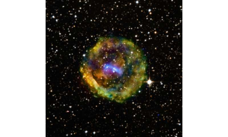 Supernova ejected from the pages of history