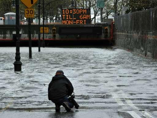 Superstorm Sandy—which killed more than 40 people—paralyzed New York in October 2012 and left the city shocked and sodden