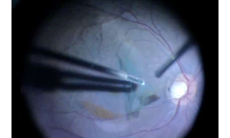 Surgery can restore vision in patients with brain injuries