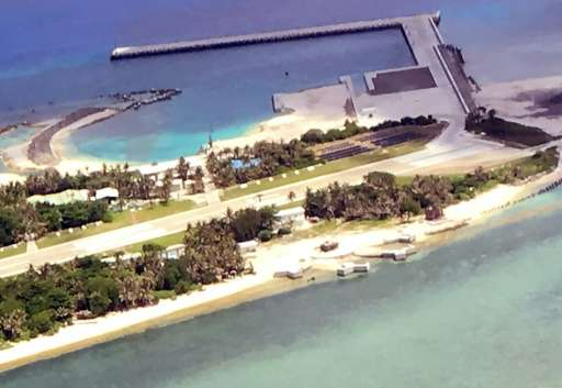 Taiwan-controlled Taiping Island is part of the Spratlys archipelago in the South China Sea