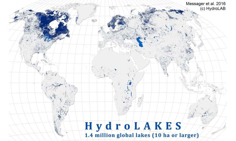 New global database will help scientists track role of lakes ...
