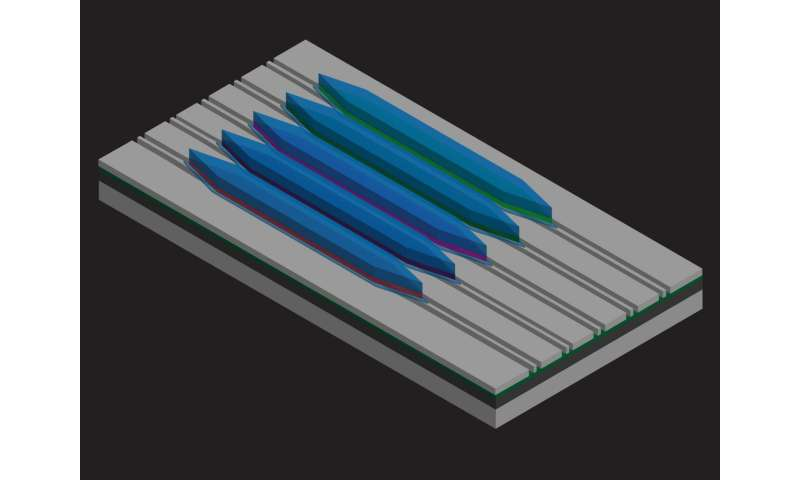 Team builds first quantum cascade laser on silicon