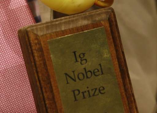 The 26th edition of the annual Ig Nobel Prizes, which celebrate the silly side of science, were handed out Thursday at Harvard U