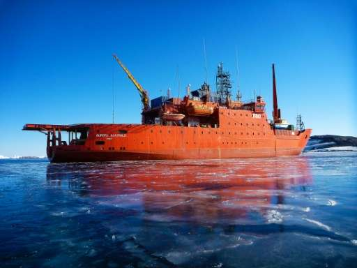 The ageing vessel has been battling the stormy Southern Ocean since 1989 and is scheduled to be replaced in 2019