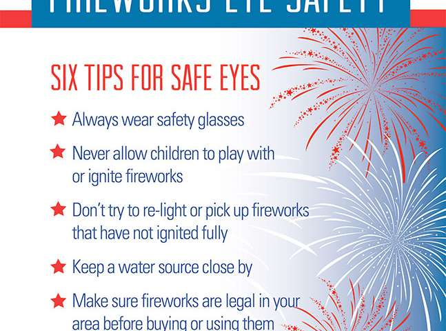 The blinding truth – fireworks and the dangers they pose to your eyes