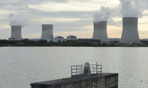 The Cattenom nuclear power plant in Cattenom, north-eastern France
