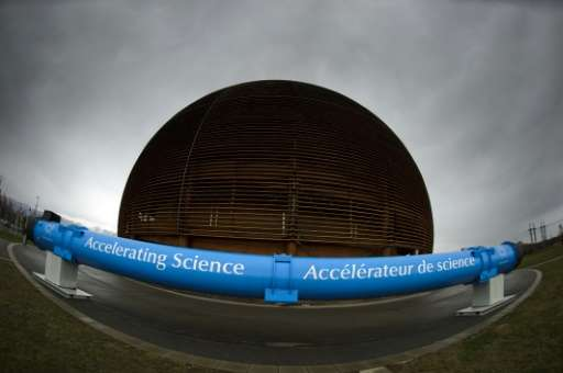 The Globe of Science and Innovation is seen at the entrance of the European Organization for Nuclear Research (CERN) in Geneva