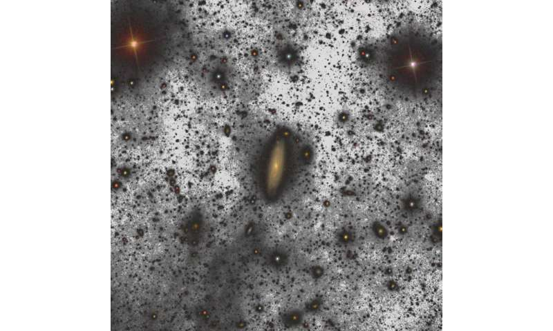 The GTC obtains the deepest image of a galaxy from Earth