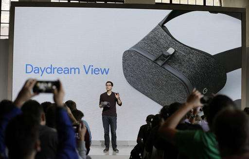 The highlight of Google's Daydream VR is     its controller