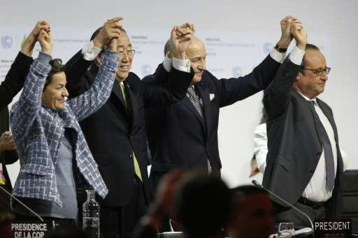 Thehistoric climate deal reached in Paris in December will only take effect after 55 nations responsible for 55 percent of gree