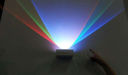 The Li-Fi technology uses the frequencies generated by LED lights to beam information through the air