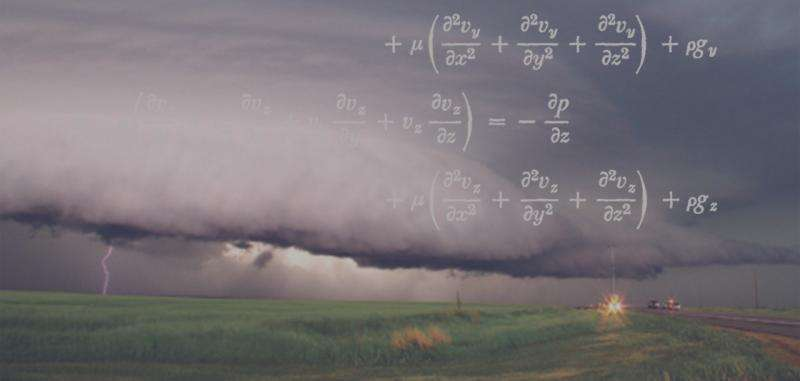 The mathematics of weather prediction