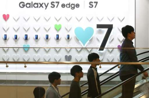 The performance of the Galaxy S7 pushed the mobile division back up to top spot as Samsung's largest earnings source