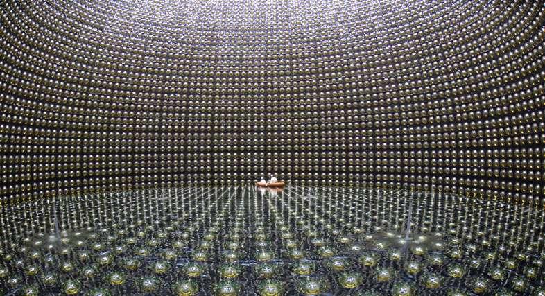 The Super-Kamiokande detector awaits neutrinos from a supernova