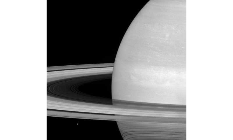 Tiny Mimas, Huge Rings