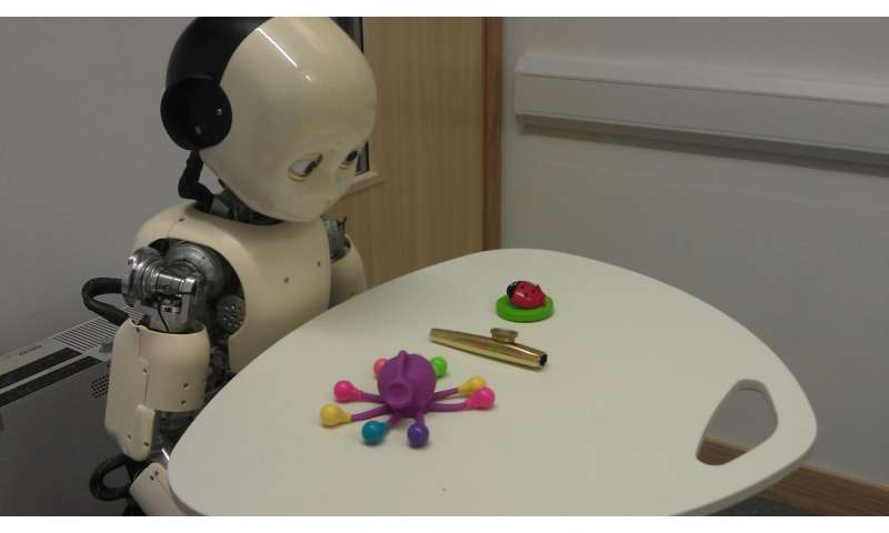 Toddler robots help solve how children learn
