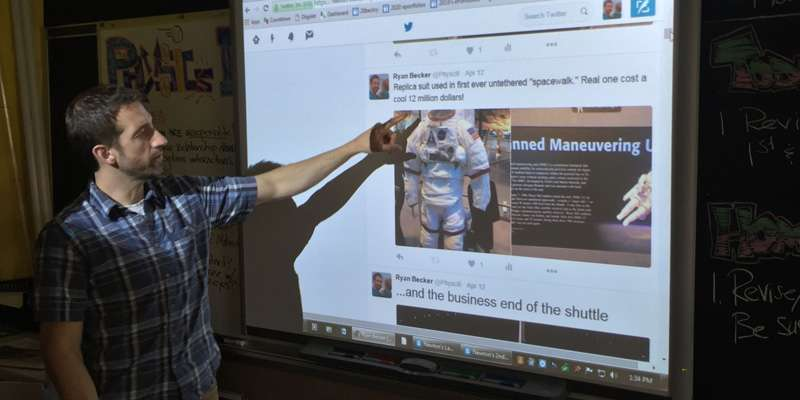 Transforming teaching with Twitter