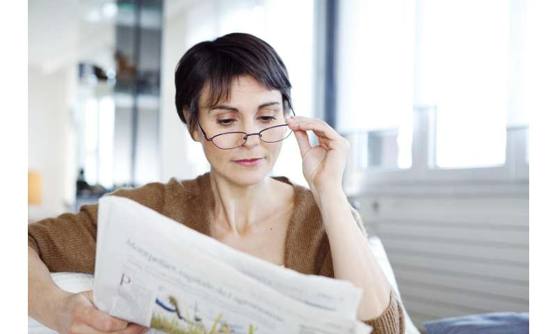 Treatments may help people with aging eyes see up close without reading glasses