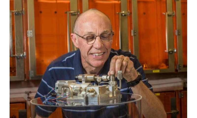 Tritium introduced in fusion experiments at Sandia