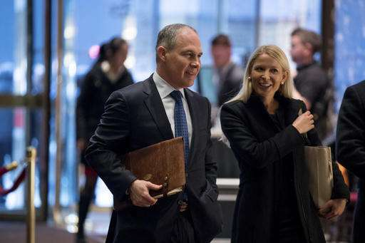 Trump to tap champion of fossil fuels as environmental chief