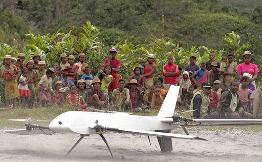 University collects medical samples via drones in Madagascar