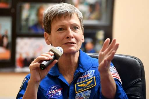 US astronaut Peggy Whitson, NASA's most experienced female astronaut, is going on her third trip to the ISS and holds the record