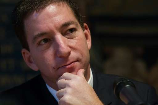 US-journalist Glenn Greenwald, pictured on December 1, 2014, said The Intercept has already begun to provide archive access to s