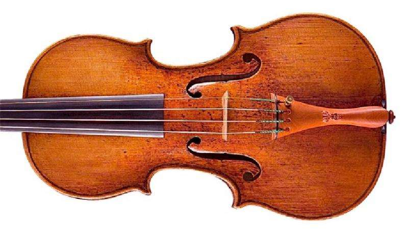 Varnish affects the sound of a violin
