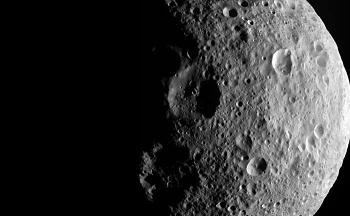 Vesta rules the February dusk skies