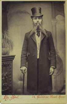 Victorian beard craze inspired false 'mechanical' whiskers