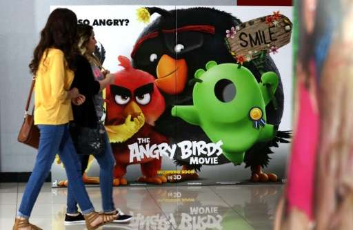 Video games like Angry Birds generate only a fraction of the revenue Nokia used to achieve
