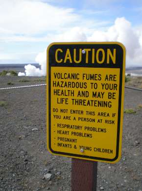 Volcano emissions linked to increases in asthma attacks