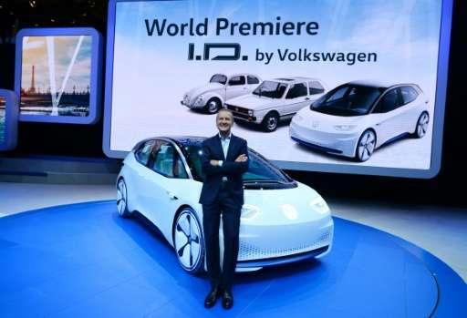 """VW chief Herbert Diess Herbert Diess says he is """"very sorry"""" for people who will lose their jobs"""