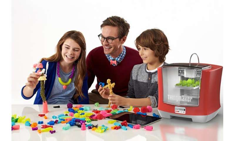 When 3D printing is turned into kids' play: ThingMaker