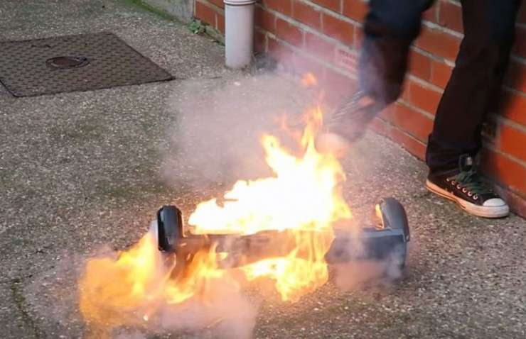 Why hoverboards explode