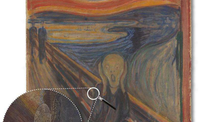 Why researchers look for white stains on Edvard Munch's masterpiece with DESY's X-rays