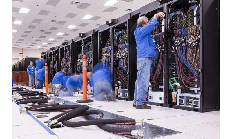 Wiring reconfiguration saves millions for Trinity supercomputer